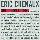 Eric Chenaux  Skullsplitter  pack shot