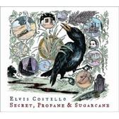 Elvis Costello Secret, Profane and Sugarcane pack shot