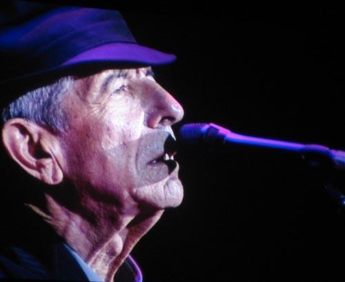 Leonard Cohen at the O2 Arena
