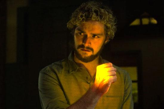 Danny Rand with glowing fist