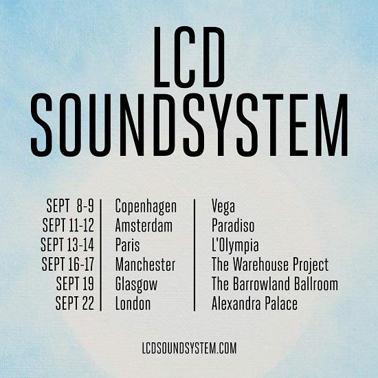 LCD Soundsystem is playing in Miami in October