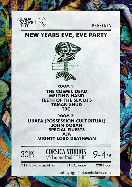 The Quietus | News | Baba Yaga\'s Hut Line Up New Year\'s Eve, Eve Party