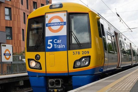 London Overground set for 24-hour weekend service