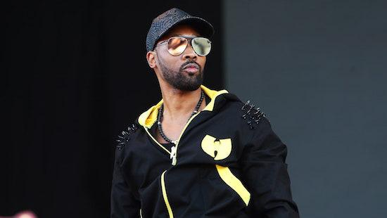 RZA is suing a dog walking company called Woof Tang Clan