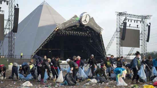 Glastonbury Could Ban Plastic Bottles in 2019