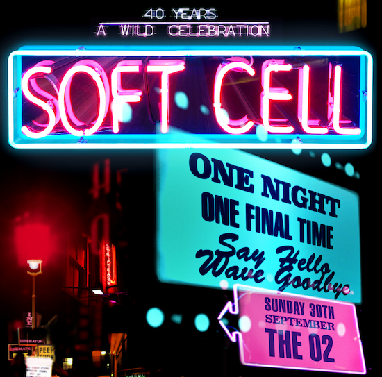 Soft Cell Announce Last Show Ever