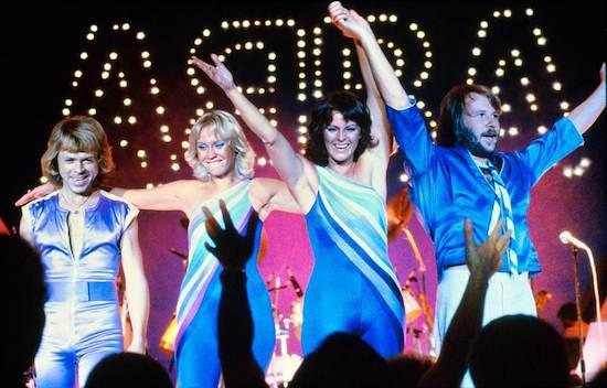 Famous pop music band ABBA reunites after 35 years
