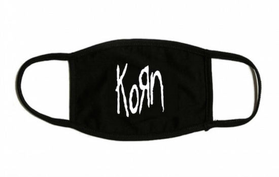branded surgical mask
