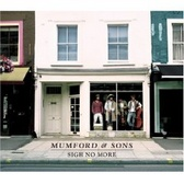 Mumford And Sons Sigh No More pack shot