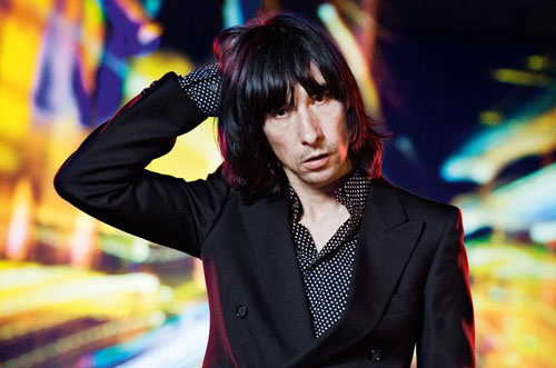 Bobby Gillespie - 'where did I put my ciabatta?'
