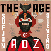 Sufjan Stevens The Age Of Adz pack shot