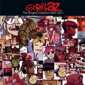 Gorillaz The Singles Collection 2001-2011 pack shot