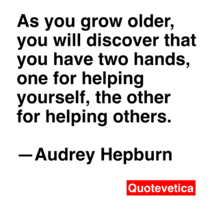 audrey hepburn famous quotes and images