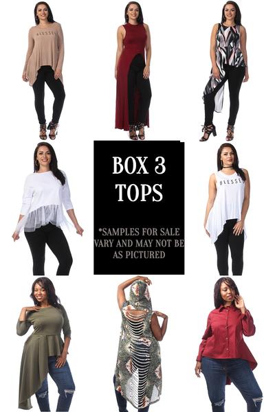 Sample Sale Mystery Box 3: Tops (1-3X)