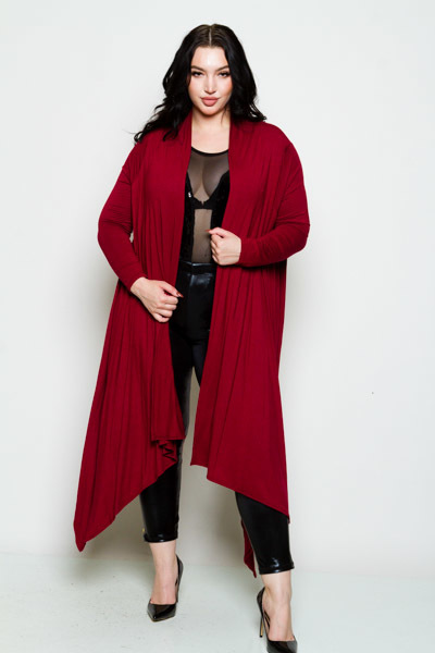 Long Sleeve Multiway Cardigan