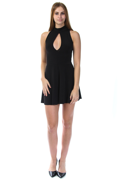 SLEVELESS FRONT KEY HOLD ROMPER