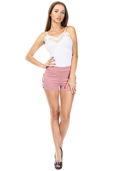 OPEN SIDE RINGLET SHORTS