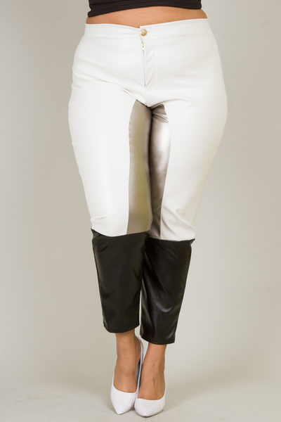 COLOR BLOCK JODHPURS