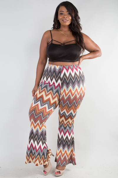 Stylish Fitted trumpet pants