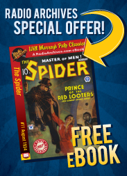 Free Spider eBook!