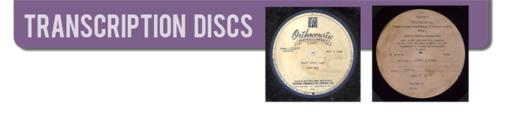 Transcription Discs
