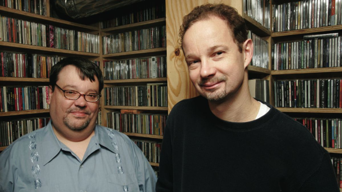 Sound Opinions hosts Greg Kot and Jim DeRogatis