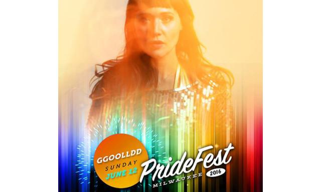 GGOOLLDD at PrideFest