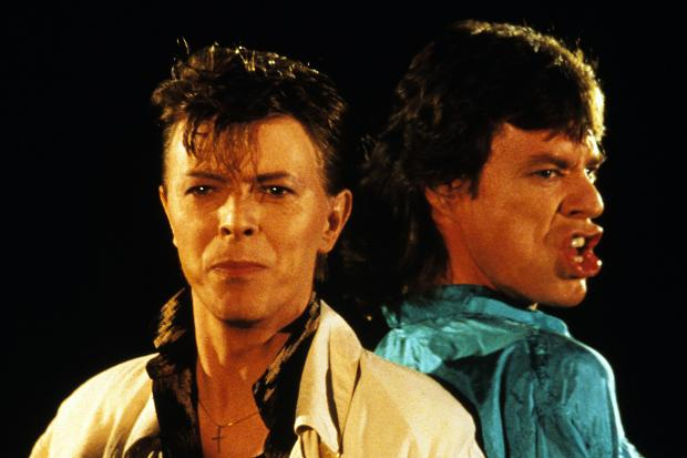 David Bowie collaborations with Mick Jagger