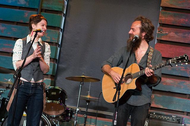 Sam Beam and Jesca Hoop at Studio Milwaukee