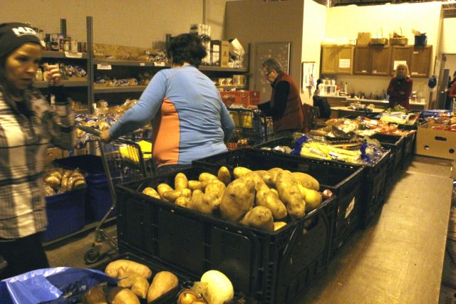 """With a variety of fresh food, the pantry prides themselves in providing """"good and wholesome"""" food."""