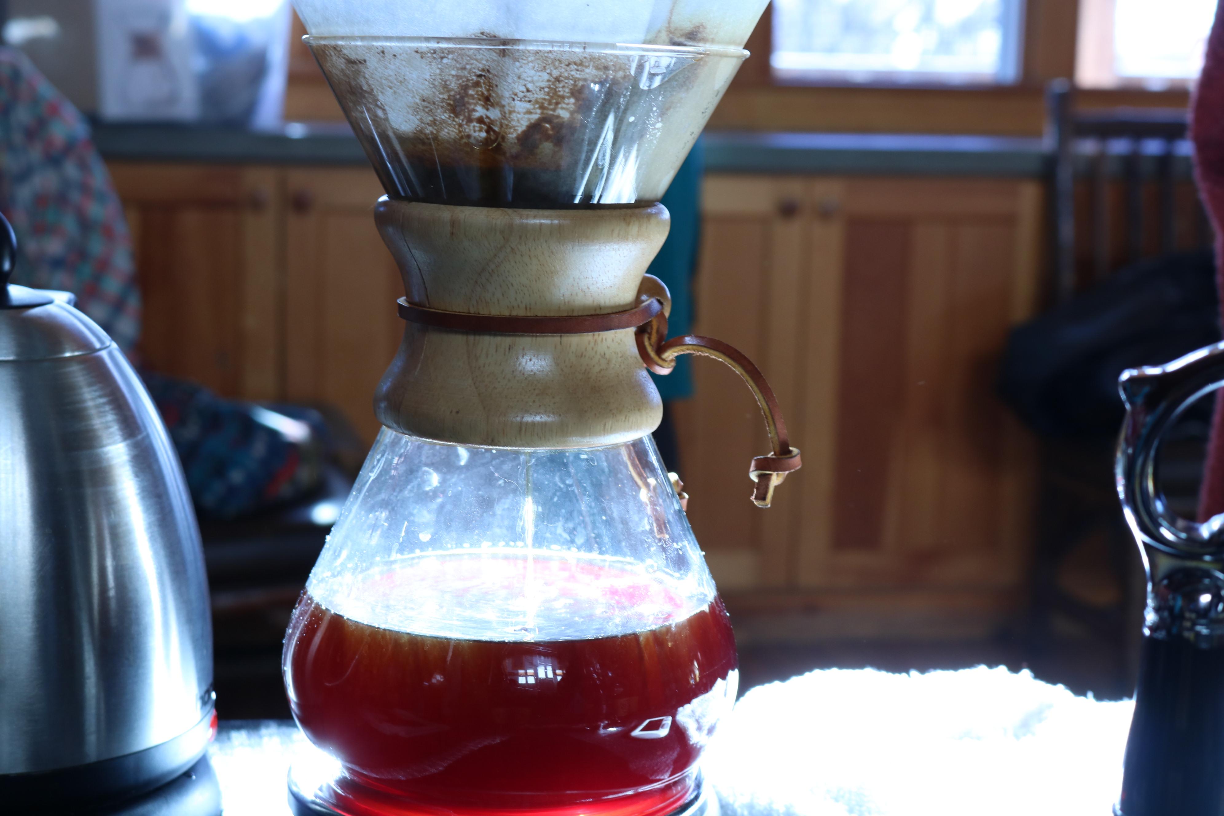sustainable coffee tasting