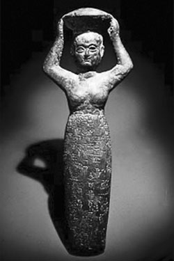 Sumerian goddess of brewing, Ninkasi.