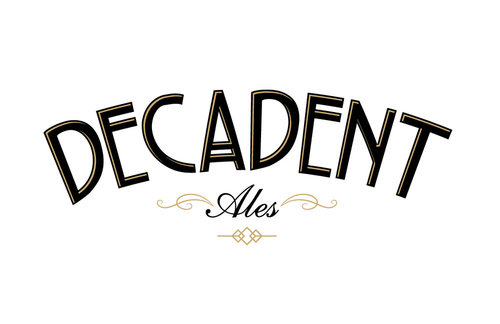 Decadent ales color logo for light backgrounds