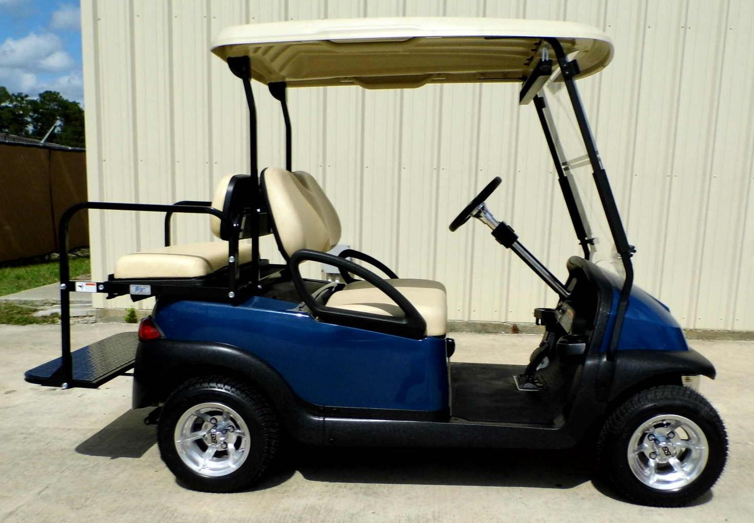 Win A New Club Car Golf Cart-street Ready
