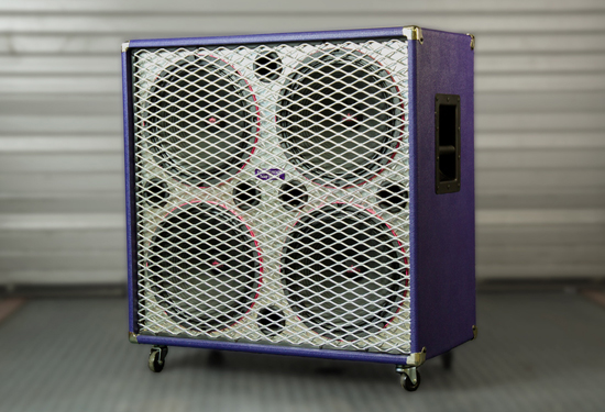 Custom 4x12 guitar cabinet for Relay for Life