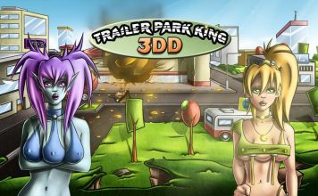 Trailer park King 3DD - title screen