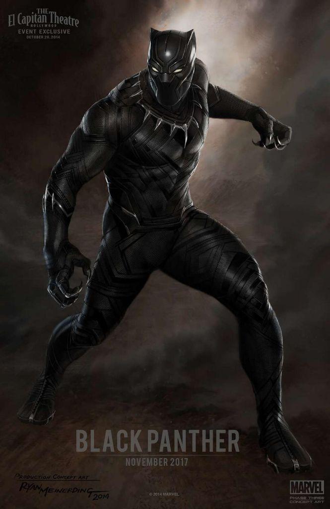 Black Panther-Marvel Phase 3