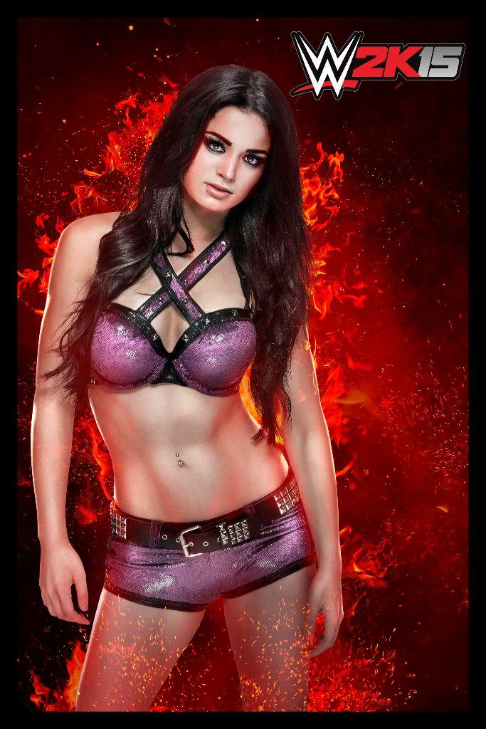 WWE2K15 Paige