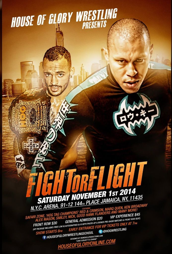 House of Glory: Fight or Flight Poster