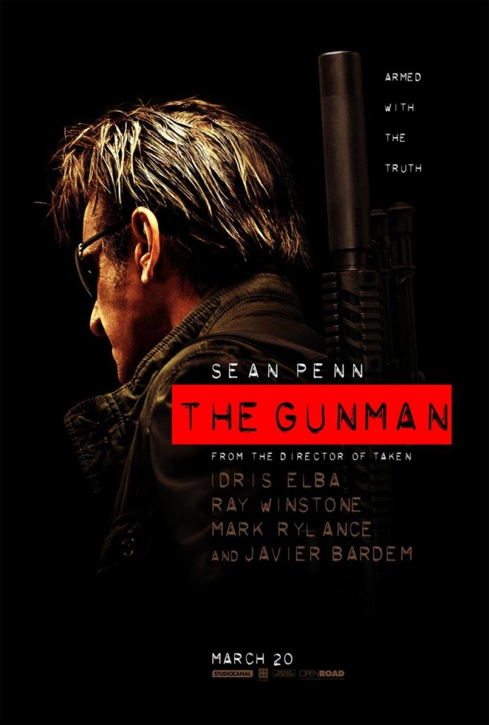 the-gunman poster
