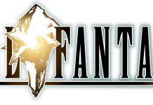 Final Fantasy - white logo