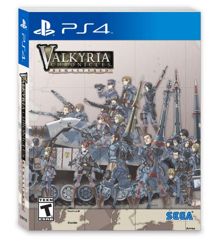 Valkyria Chronicles Remastered - Steelbook