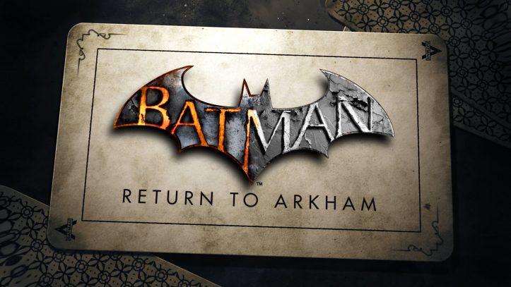 Batman: Return to Arkham - cover