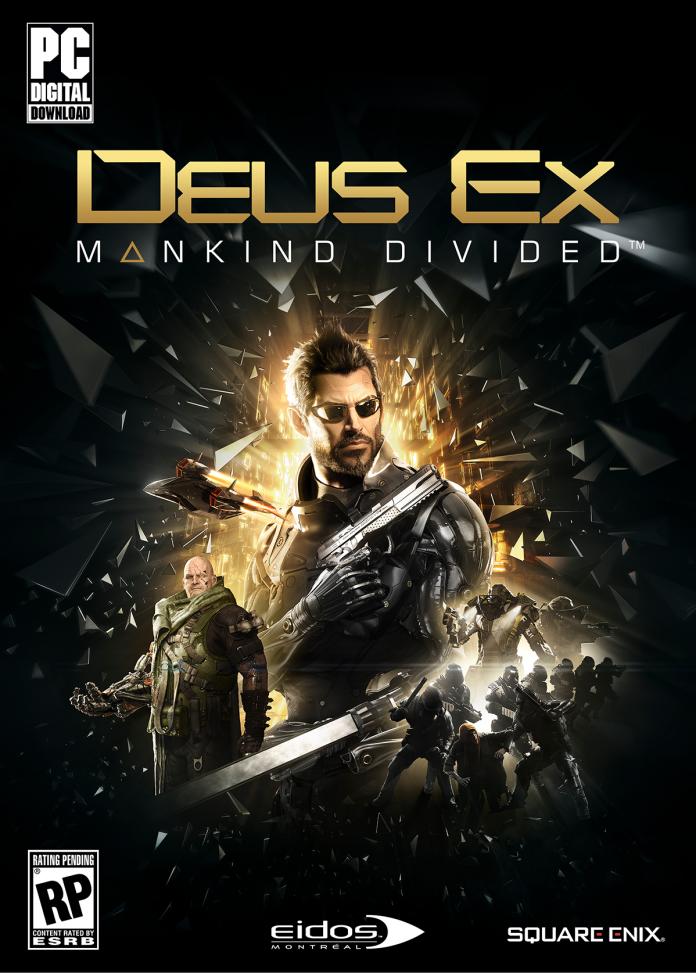 Deus Ex: Mankind Divided - PC packshot
