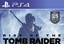 Rise of the Tomb Raider - box art