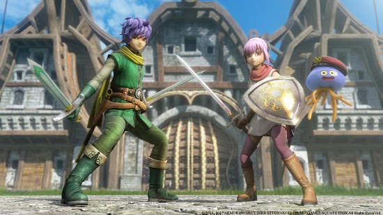 Dragon Quest Heroes II - cousins
