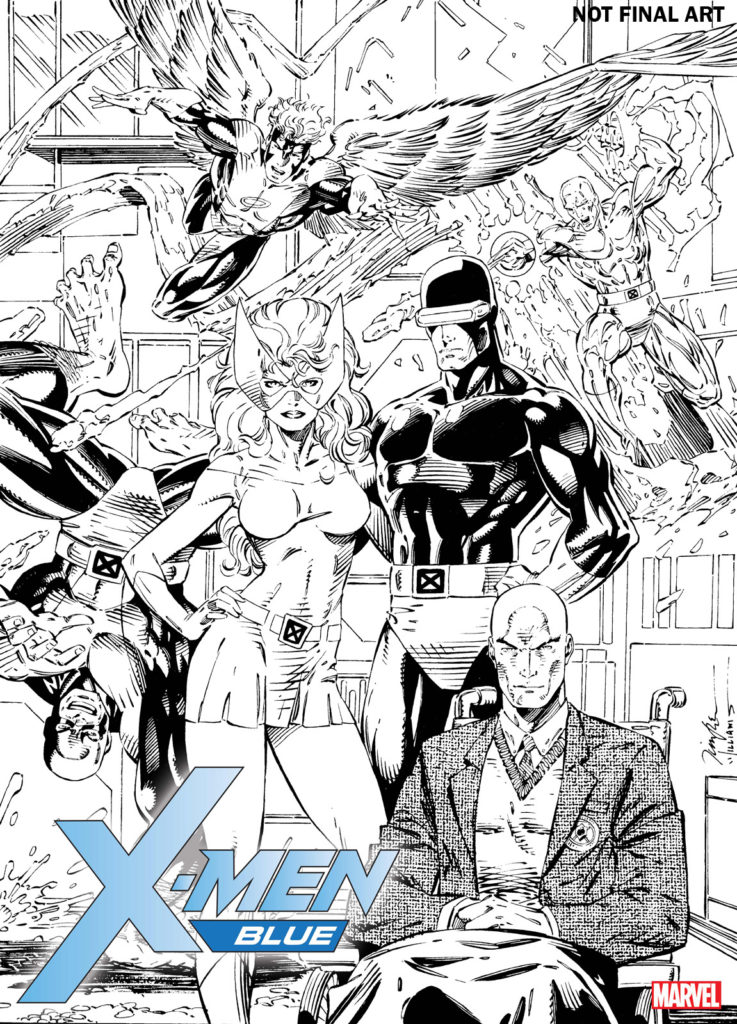 X Men Blue Jim Lee Remastered NOT FINAL