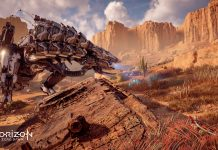 Horizon Zero Dawn - Thunderjaw searching