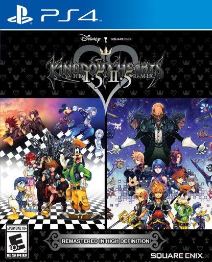 Kingdom Hearts HD 1.5 + 2.5 ReMIX - packshot
