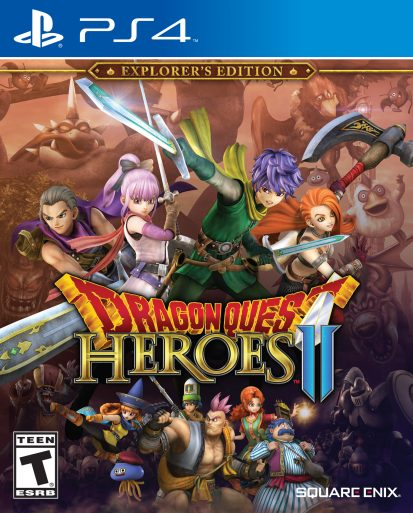 Dragon Quest Heroes II - NA box art